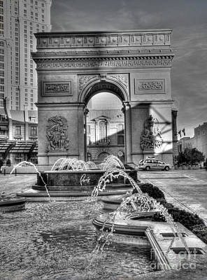 Photograph - Arc At Paris by David Bearden