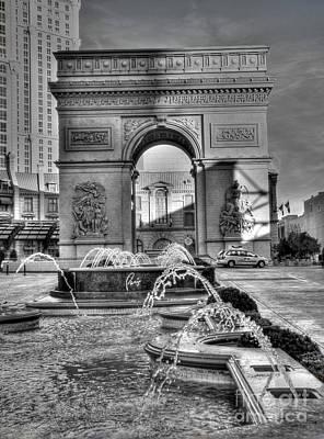 Photograph - Arc At Paris by David Bearden