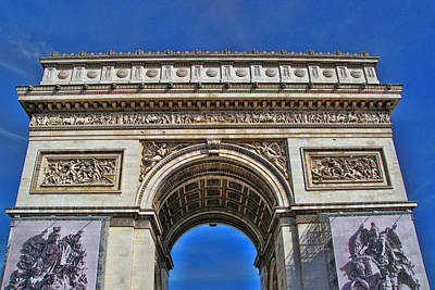 Photograph - Arc De Triomphe by Allen Beatty
