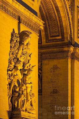 Photograph - Arc De Triomphe by Brian Jannsen