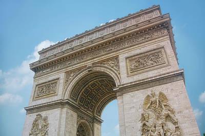 Arc De Triomphe Photograph - Arc De Triomphe by Cora Niele