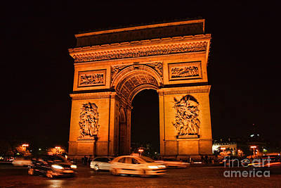 Photograph - Arc De Triomphe by Crystal Nederman