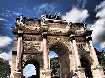 Arc De Triomphe Du Carrousel Wall Art - Photograph - Arc De Triomphe Du Carrousel by Bk Krish