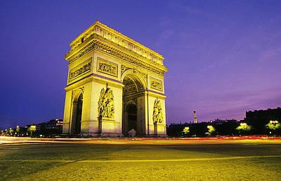 Flowers Photograph - Arc De Triomphe IIi by Buddy Mays