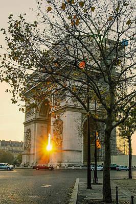 Whalen Photograph - Arc De Triomphe by Josh Whalen