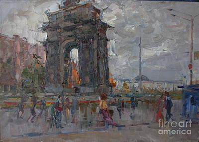 Arc De Triomphe. Moscow Art Print by Ilya  Izyumov