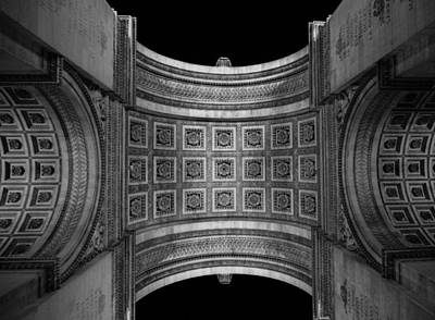Photograph - Arc De Triomphe Paris France by Heidi Hermes