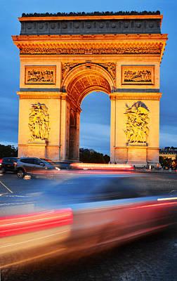 Arc De Triomphe Triumphal Arch In Paris Original