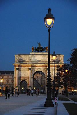 Photograph - Arc Du Carousel by Jacqueline M Lewis