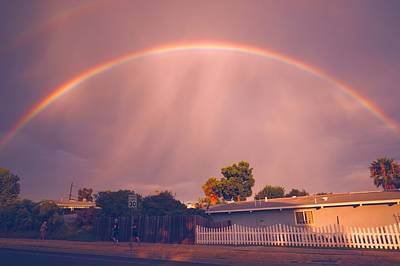 Photograph - Arc Of The Rainbow by Jeremy McKay