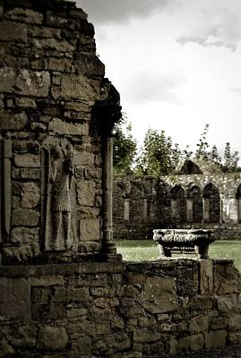 Photograph - Arcade Details Jerpoint Abbey by Nadalyn Larsen
