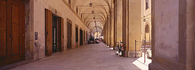 Arcade, Florence, Tuscany, Italy Art Print by Panoramic Images