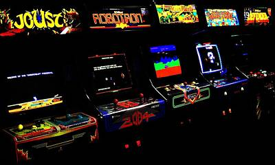 Photograph - Arcade Forever Williams by Benjamin Yeager
