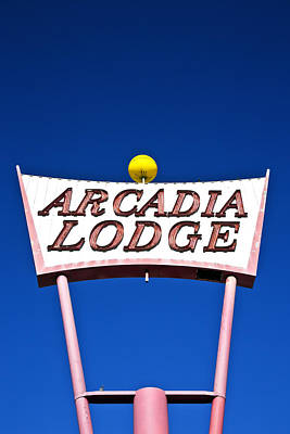 Arcadia Lodge Art Print