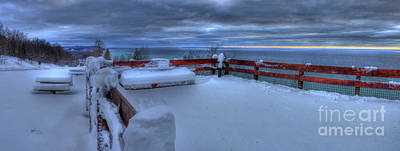 Snow Fall Photograph - Arcadia Overlook In Winter by Twenty Two North Photography