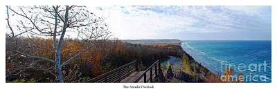Benzie Photograph - Arcadia Overlook by Twenty Two North Photography