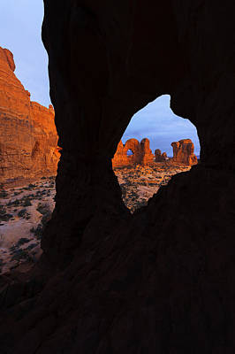 Photograph - Arch Arch Vertical by Dustin  LeFevre