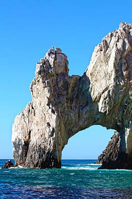 Photograph - Arch At Land's End by Shane Bechler
