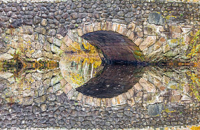 Dean Martin Photograph - Arch Bridge Reflection by Dean Martin