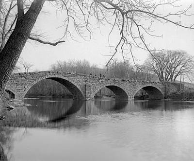 Photograph - Arch Bridge by William Haggart