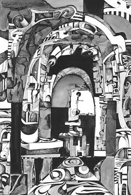 Arch Art Print by Daniela Yordanova
