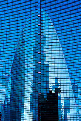 Photograph - Arch In Glass by Ed Gleichman
