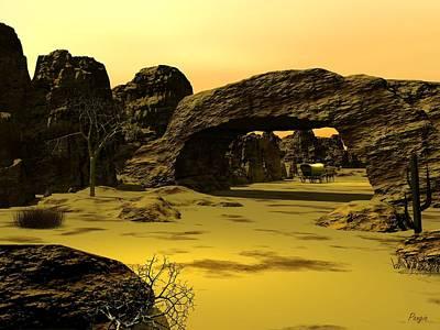 Conestoga Digital Art - Arch by John Pangia