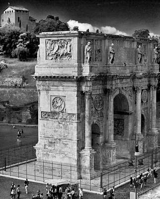Photograph - Arch Of Constantine by Matthew Ahola