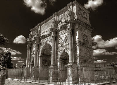 Photograph - Arch Of Constantine by Michael Kirk