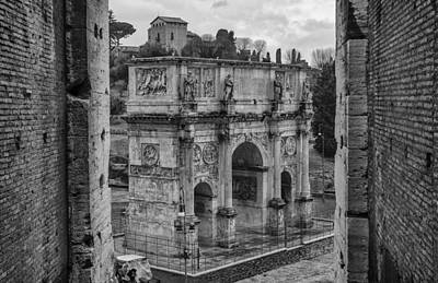 Photograph - Arch Of Constantine by Pablo Lopez