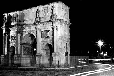 Photograph - Arch Of Constantine by Walt  Baker