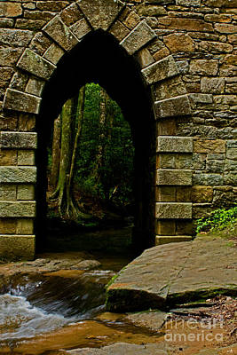 Photograph - Arch Of Poinsett Bridge by Sandra Clark