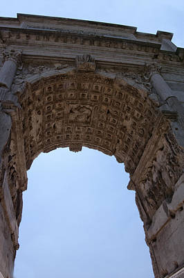 Photograph - Arch Of Titus by Melany Sarafis