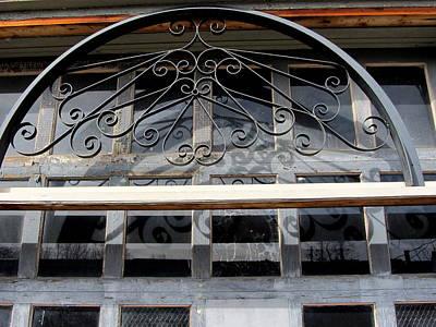 Photograph - Arch Over Door by Anita Burgermeister