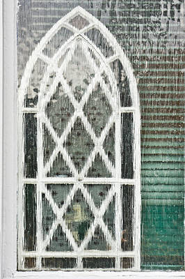 Etched Glass Photograph - Arch Pattern by Tom Gowanlock
