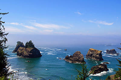 Photograph - Arch Rock View Point by Tikvah's Hope