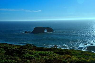 Photograph - Arch Rock Vista by Michael Courtney