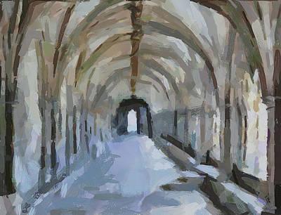 Arch Way Art Print
