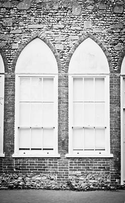 Historic Home Photograph - Arch Window by Tom Gowanlock