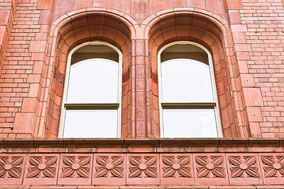 Arch Windows Art Print by Tom Gowanlock