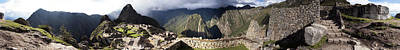 Archaeological Site, Machu Picchu Art Print