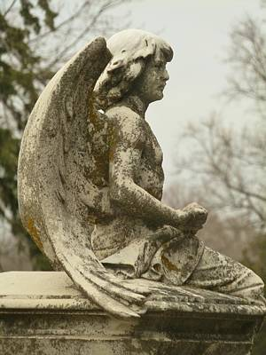 Photograph - Archangel Michael by Cindy Fleener