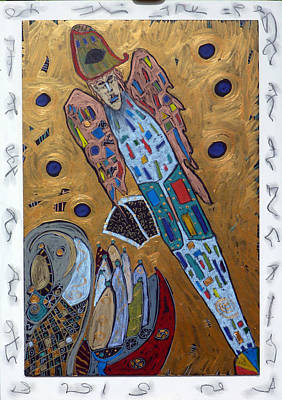 Mixed Media - Archangel Michael by Clarity Artists