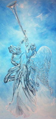Painting - Archangel's Trumpet by Patti Lane