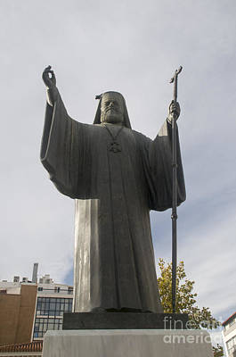 Plaka Photograph - Archbishop Damaskinos Papandreou by Ilan Rosen
