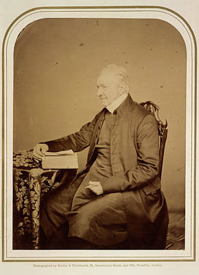 Clergy Photograph - Archbishop Of Canterbury by British Library