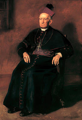 Christian Artwork Painting - Archbishop William Henry Elder by Mountain Dreams