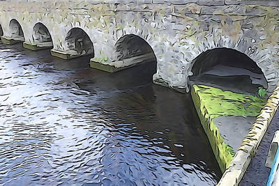 Photograph - Arched Bridge by Charlie and Norma Brock