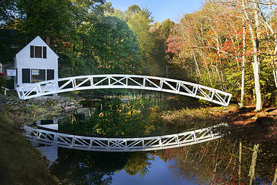 Arched Bridge Art Print by Russell Kinerson