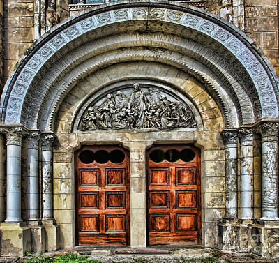 Photograph - Arched Doors Of Iglesia San Francisco De Asis By Diana Sainz by Diana Raquel Sainz